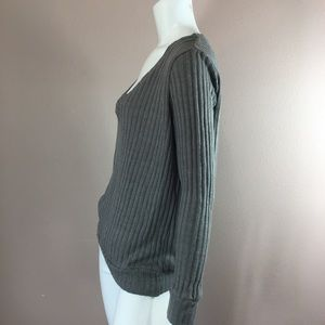Against nudity Sweaters - Against nudity Sweater Scoop Neck Knit Gray